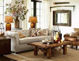 pottery barn rooms pottery barn tufted leather sofa living room design the