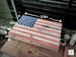 Wooden American Flag Wall Hanging American Flag Concealed Gun Compartment That Hangs On Wall 8