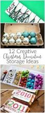 Diy Christmas Ornament Storage Ideas by 1643 Best Christmas Ideas Images On Pinterest Christmas