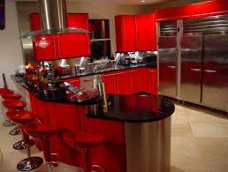 Black Kitchen Design Ideas Black And Red Kitchen Design Home Design Ideas