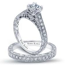 detailed engagement rings kirk kara angelique filigree anniversary ring products