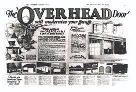 Overhead Door Corporation History Of Overhead Door