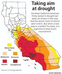 Us Drought Map The End Of California U0027s Drought Is Much Closer After Recent Rain