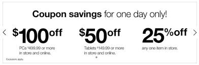 staples black friday online deal alert staples offers 50 off tablets 100 off pcs 25 off