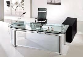 Diy Glass Desk Nervi Glass Office Desk Outstanding Creative Of Glass Office Desk