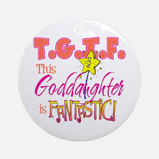 goddaughter ornament godchild christmas ornament cafepress