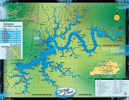 cumberland lake map maps lake cumberland state dock