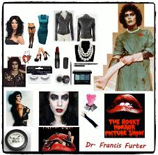 a female dr frank n furter cosplay collage my version of the