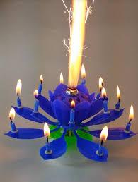 lotus birthday candle amazing blue lotus flower birthday candle exciting candle