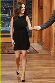 dress little black dress mila kunis shoes wheretoget
