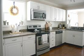 Mixed Metals Kitchen by Live A Little Wilder January 2016