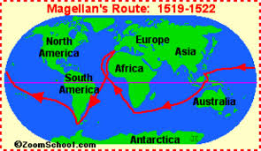 Map Of Christopher Columbus Voyage To America by Explorers Of The New World By Hailey Hansel