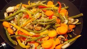 cuisiner au wok recette wok de légumes inratable 750g
