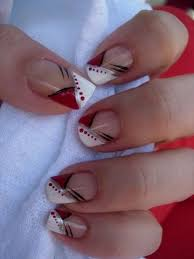 best 25 cute red nails ideas on pinterest red and silver nails