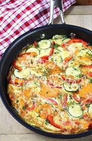quoi cuisiner ce soir omelette aux légumes recette facile un jour une recette