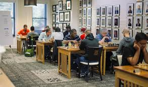 on chess st louis players raise money for als research st