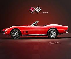 68 stingray corvette 1968 c3 corvette note of the mako sharks called stingray
