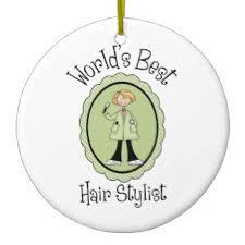 cosmetologist ornaments keepsake ornaments zazzle