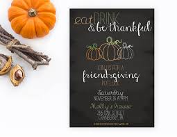 thanksgiving invitations free templates potluck invitation friendsgiving thanksgiving invitation