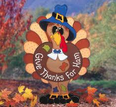 thankful turkey thanksgiving wood yard by chardoman
