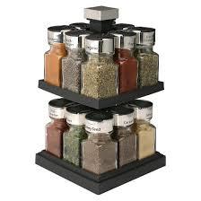 18 Jar Spice Rack Olde Thompson 16 Jar Spice Rack Black Target