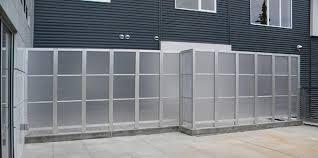 Aluminum Patio Enclosure Materials Privacy Screens U0026 Enclosures Deepstream Designs