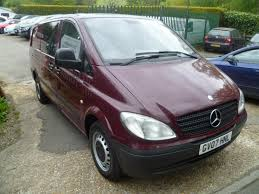 used 2007 mercedes benz vito 115 cdi extra long traveliner lwb