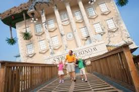 Wonderworks Upside Down House Myrtle Beach - top 5 things for kids to do at broadway at the beach caribbean