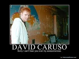 David Caruso Meme - image 31687 i m sorry i can t hear you over the sound of how