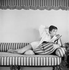 Audrey Hepburn Rug Mark Shaw Audrey Hepburn At Home Photograph For Sale At 1stdibs