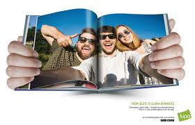 friends photo album lupa from selfie to album in minutes friends print ad by no