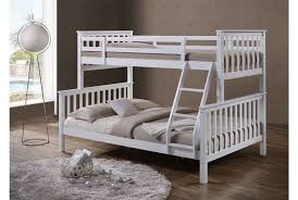 Wooden Bunk Bed With Stairs Bedding Design White Wood Bunk Beds With