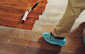 how to refinish wood floors this house
