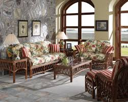 Wicker Indoor Sofa Replacement Cushions For Antigua 3100 Wicker Furniture By South