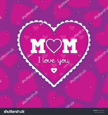 jpeg mothers day card template pink stock illustration 139021949