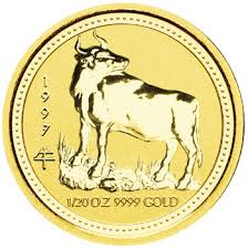 year of the ox 1997 1997 year of the ox gold coin australian lunar series i