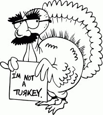 thanksgiving coloring page turkey in disguise thanksgiving in