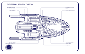 star trek blueprints quantum class starship schematics u s s