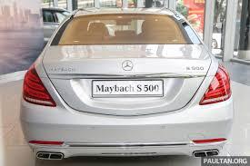 mercedes maybach s500 galeri mercedes maybach s500 di malaysia image 477977
