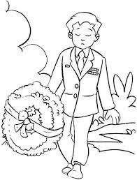 remembrance soldier bring wreath coloring pages coloring sun