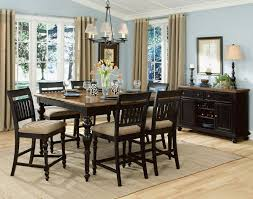 awesome pub style dining room tables with country french chairs