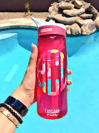 Swell Lilly Pulitzer Lilly Pulitzer Monogram On A Camelbak Water Bottle Preppy
