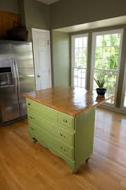 repurposed kitchen island ideas need kitchen storage make a kitchen island from a dresser