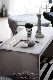 Cement Coffee Table 18 Diy Concrete Coffee And Side Tables