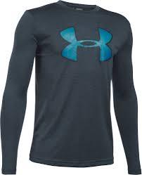 Under Armour Kids Clothes Under Armour Boys U0027 Novelty Big Logo Long Sleeve Shirt U0027s