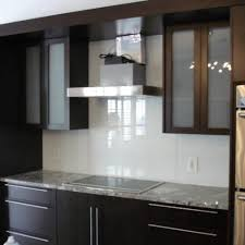 Backsplash Material Ideas - tempered glass backsplash pros and cons frosted glass backsplash