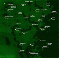 Fallout 3 Complete Map by Fallout 4 Locations Fallout Wiki Fandom Powered By Wikia