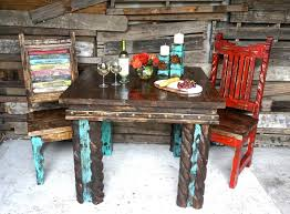 Rustic Dining Table And Chairs Rustic Dining Table Set
