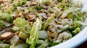 napa salad napa cabbage salad with a crunch recipe genius kitchen