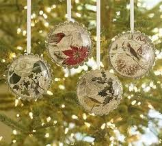 twelve days of ornaments set of 12 pottery barn in